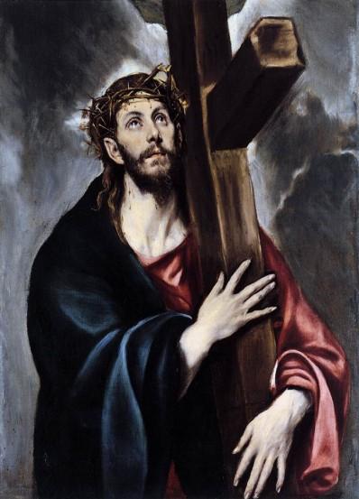 Cristo cargando con su cruz