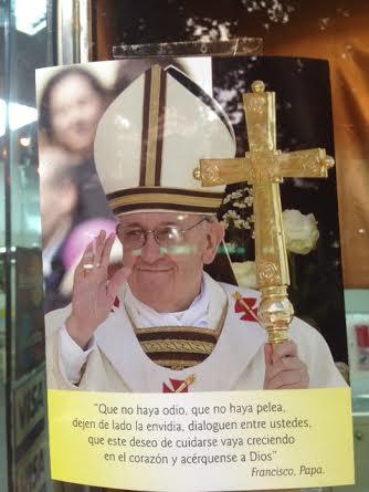 Santo Padre en las calles
